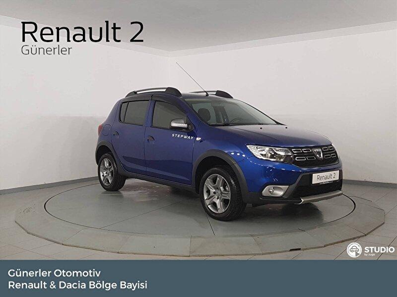 2020 Benzin Otomatik Dacia Sandero Mavi GÜNERLER