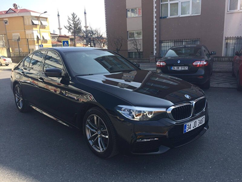 2017 Benzin Otomatik BMW 5 Serisi Siyah DEMİRKOLLAR