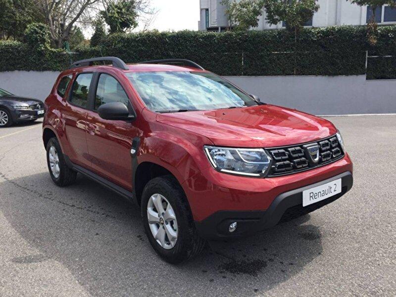 2020 Benzin + LPG Manuel Dacia Duster Kırmızı DEMİRKOLLAR