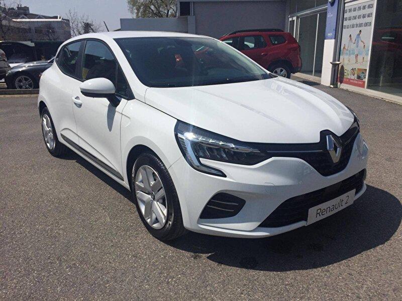 2020 Benzin Otomatik Renault Clio Beyaz DEMİRKOLLAR