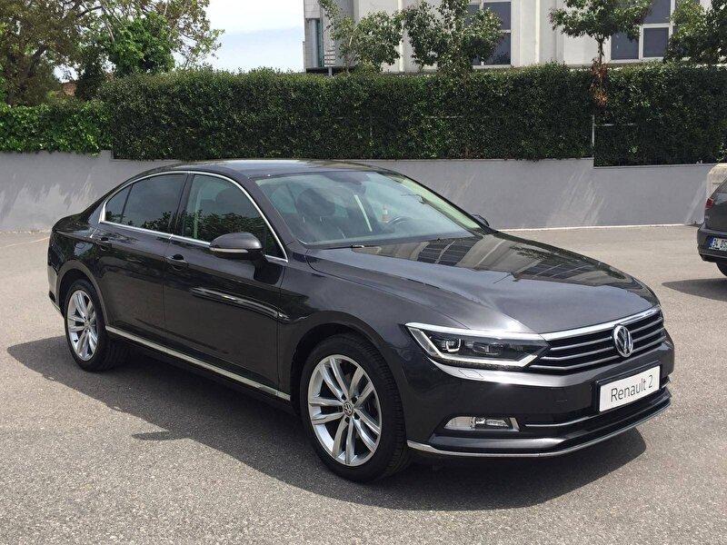 2017 Dizel Otomatik Volkswagen Passat Siyah DEMİRKOLLAR