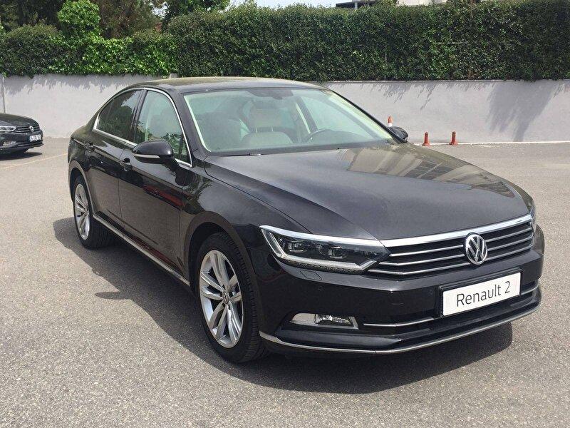 2017 Benzin Otomatik Volkswagen Passat Siyah DEMİRKOLLAR