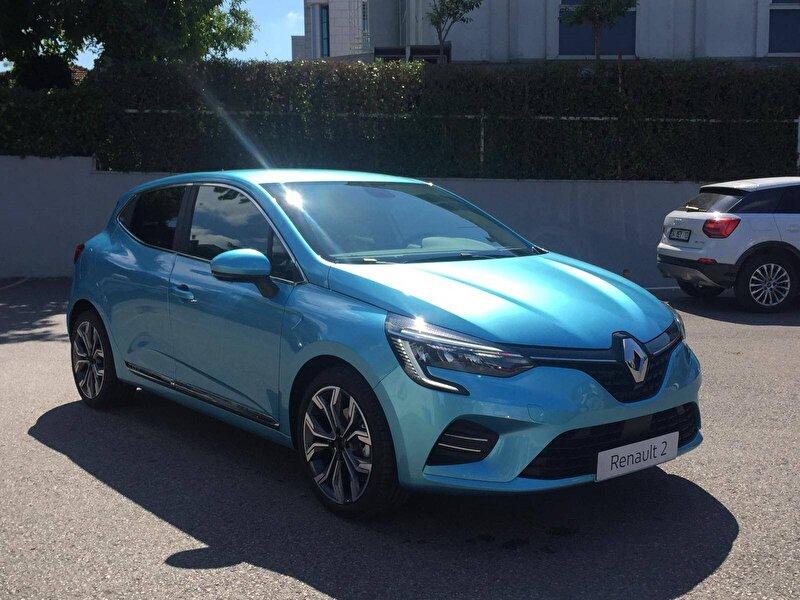 2020 Benzin Otomatik Renault Clio Mavi DEMİRKOLLAR