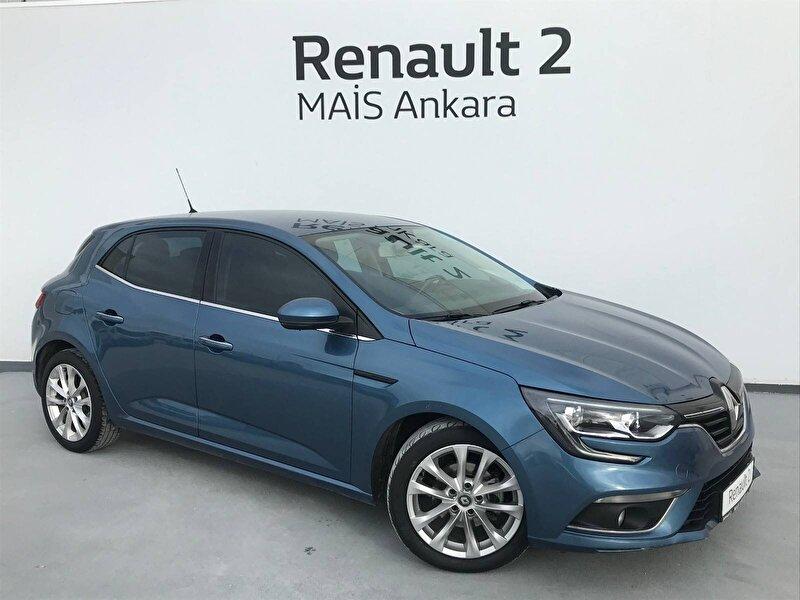 2016 Dizel Otomatik Renault Megane Gri MAİS-ANKARA