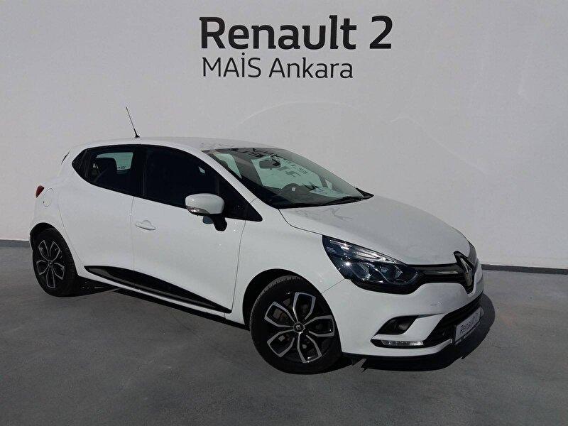 2017 Dizel Otomatik Renault Clio Beyaz MAİS-ANKARA