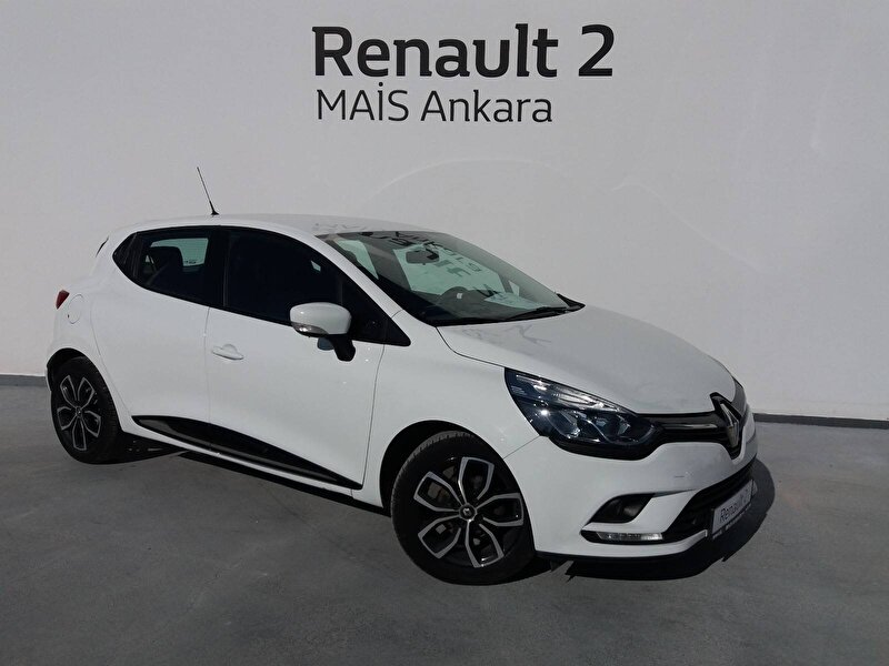 2018 Dizel Otomatik Renault Clio Beyaz MAİS-ANKARA