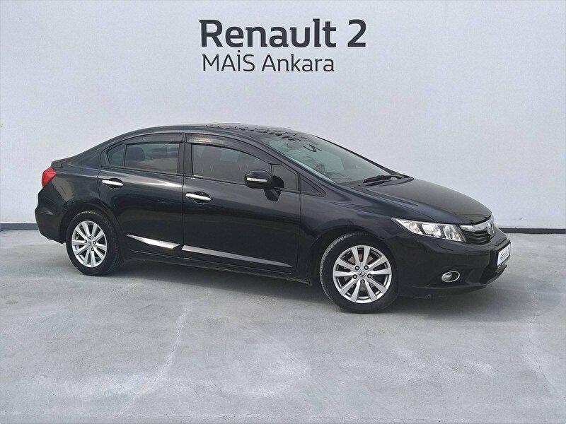 2013 Benzin + LPG Otomatik Honda Civic Siyah MAİS-ANKARA