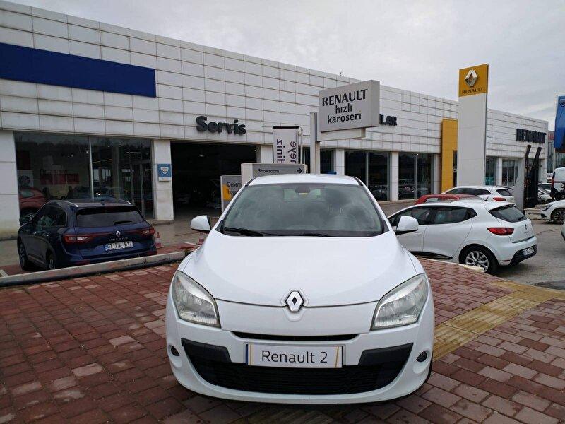 2011 Dizel Manuel Renault Megane Beyaz ZAMANLAR