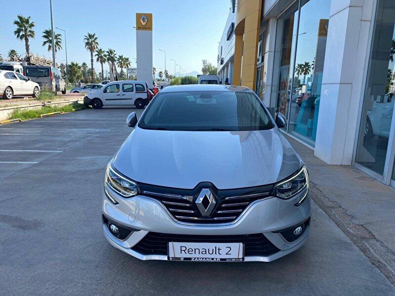 2020 Dizel Otomatik Renault Megane Gümüş Gri ZAMANLAR