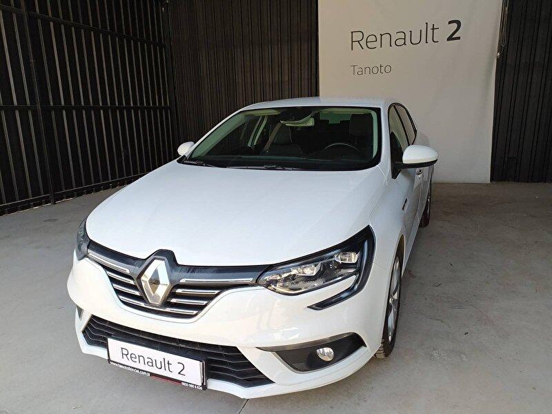 2018 Dizel Otomatik Renault Megane Beyaz TAN OTO
