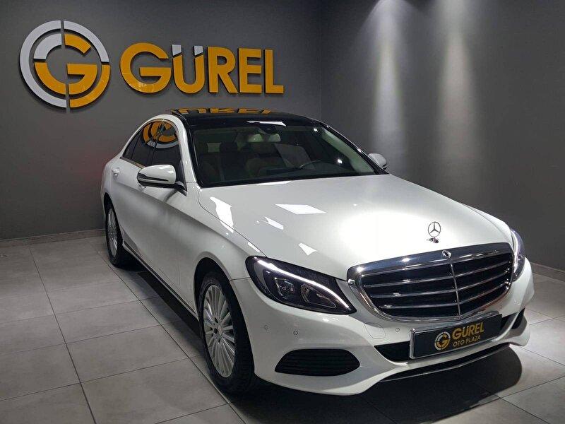 2015 Dizel Otomatik Mercedes-Benz C Beyaz GÜREL OTO