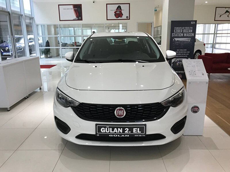 2019 Dizel Otomatik Fiat Egea Beyaz OTONOVA AŞ.
