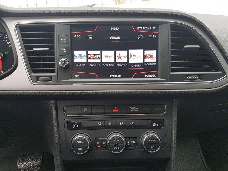 2017 Dizel Otomatik Seat Leon Beyaz OTONOVA AŞ.