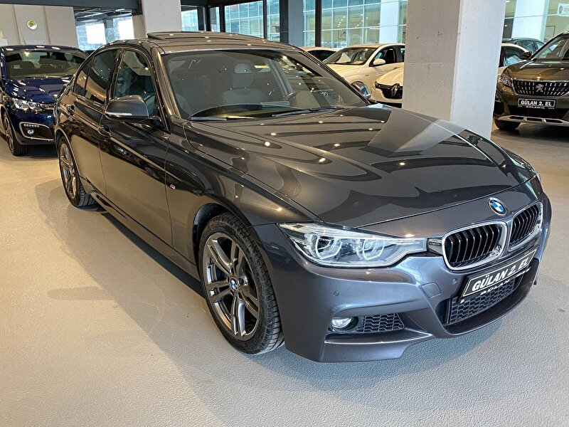 2017 Benzin Otomatik BMW 3 Serisi Gri OTONOVA AŞ.