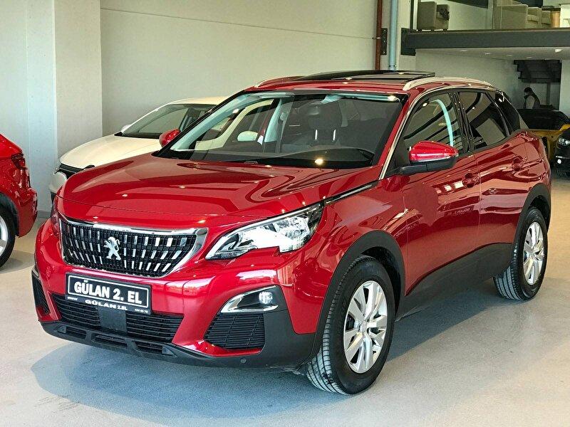 2019 Dizel Otomatik Peugeot 3008 Kırmızı OTONOVA AŞ.