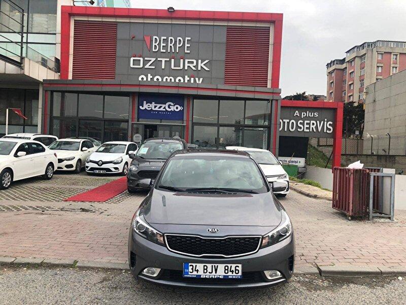 2018 Dizel Otomatik Kia Cerato Gri BERPE ÖZTÜRK
