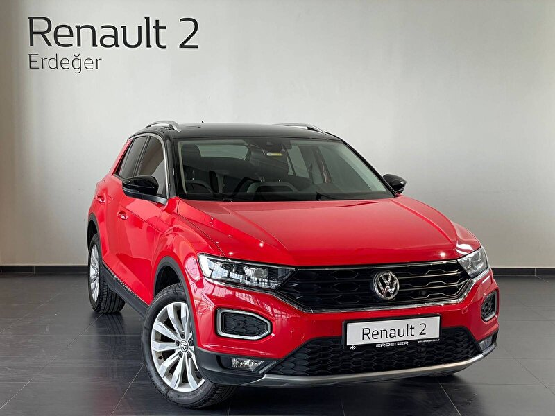 2019 Benzin Otomatik Volkswagen T-Roc Kırmızı ERDEĞER YALOVA