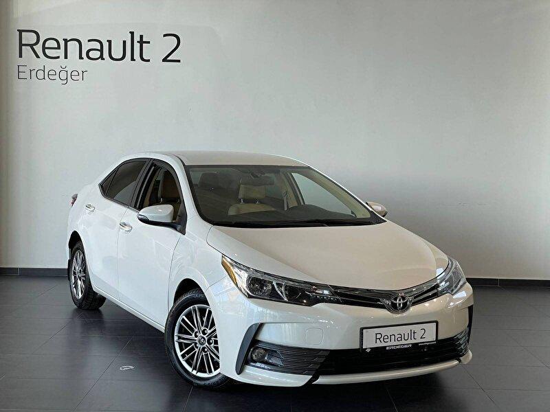2018 Dizel Otomatik Toyota Corolla Beyaz ERDEĞER