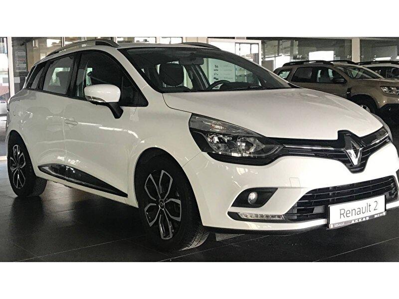 2018 Dizel Otomatik Renault Clio Beyaz AKKAŞ OTOM
