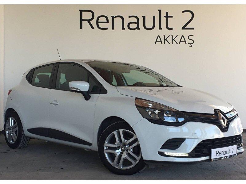 2018 Dizel Manuel Renault Clio Beyaz AKKAŞ OTOM