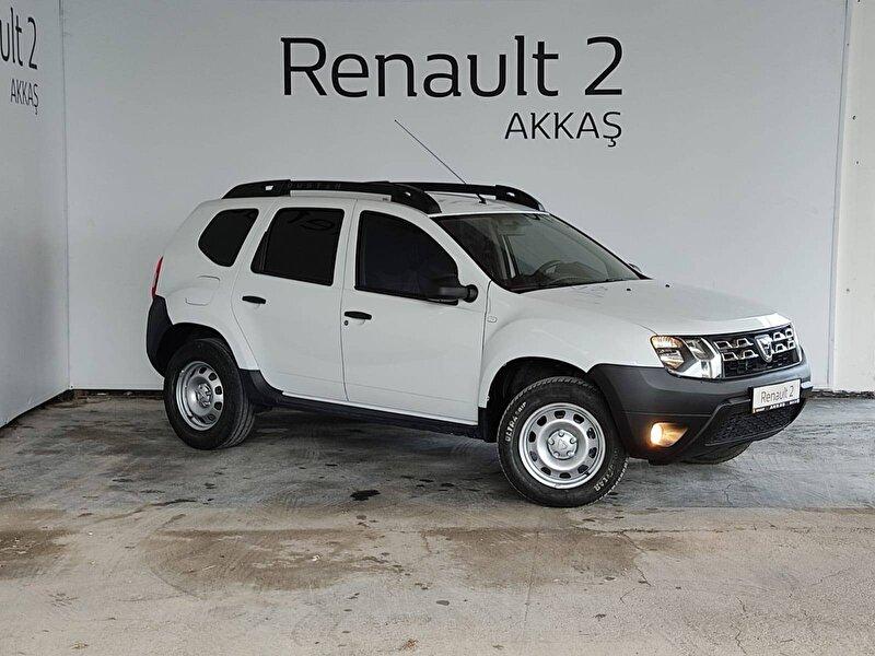 2017 Dizel Manuel Dacia Duster Beyaz AKKAŞ OTOM