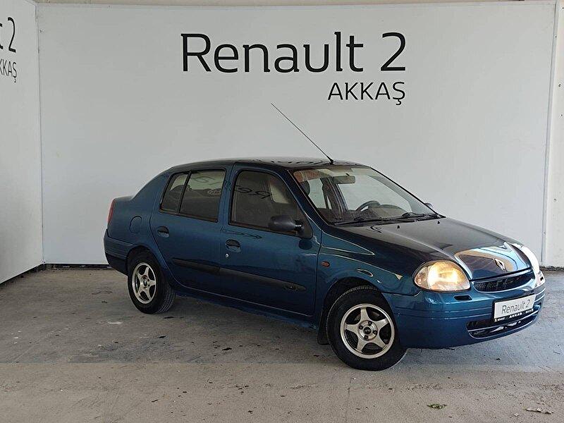 2001 Benzin Manuel Renault Clio Mavi AKKAŞ OTOM