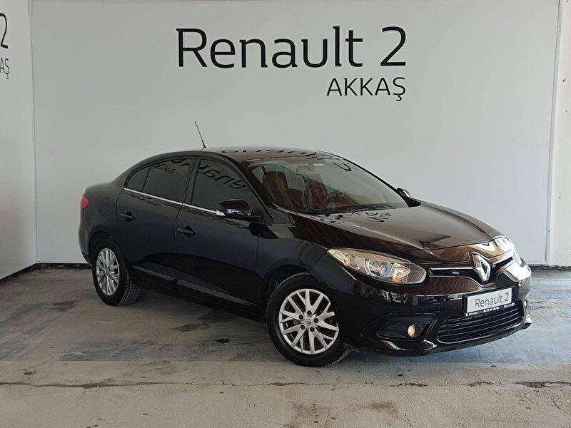 2016 Dizel Otomatik Renault Fluence Siyah AKKAŞ OTOM