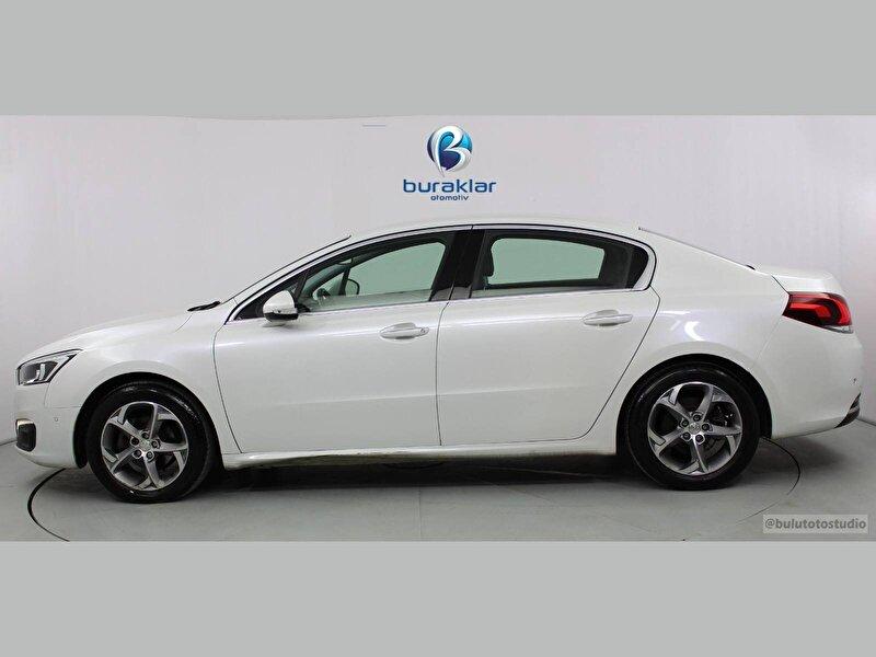 2015 Dizel Otomatik Peugeot 508 Beyaz BURAKLAR OTOM.