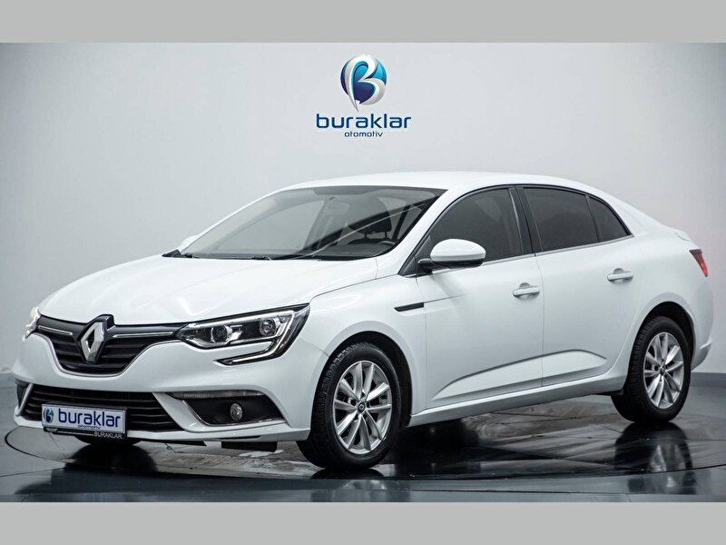 2018 Dizel Otomatik Renault Megane Beyaz BURAKLAR OTOM.