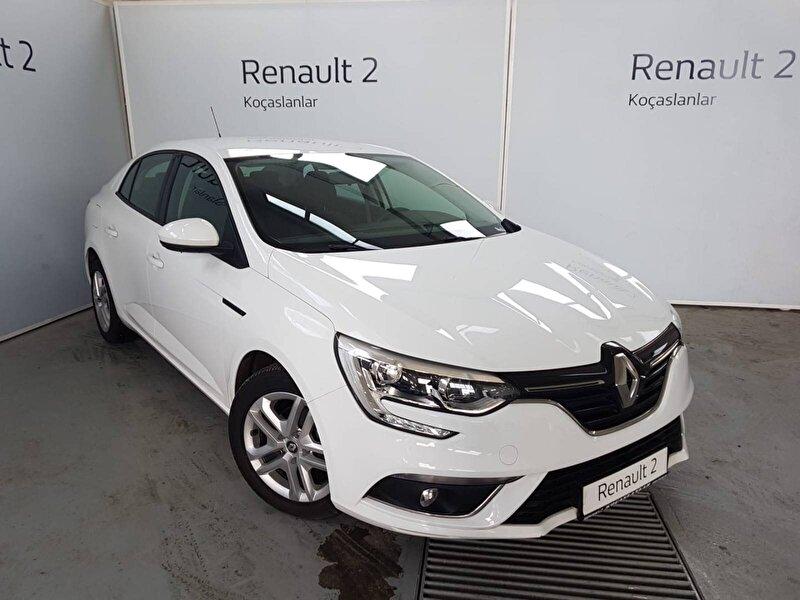 2017 Dizel Manuel Renault Megane Beyaz KOÇASLANLAR