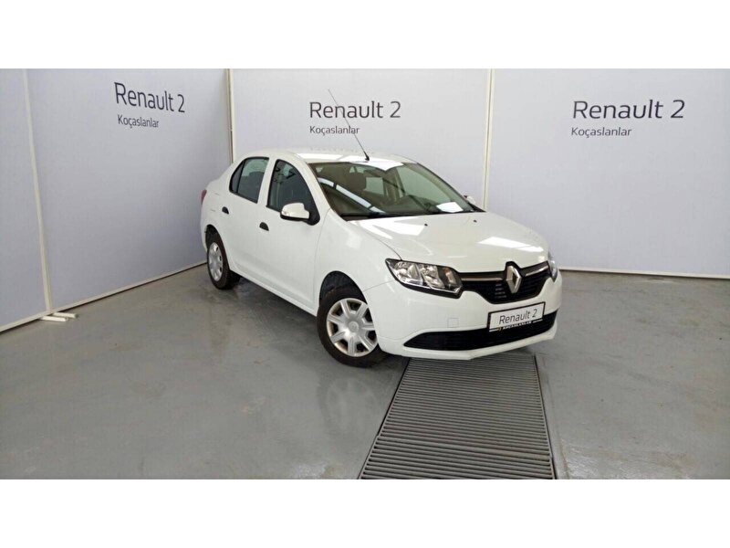 2015 Dizel Manuel Renault Symbol Beyaz KOÇASLANLAR