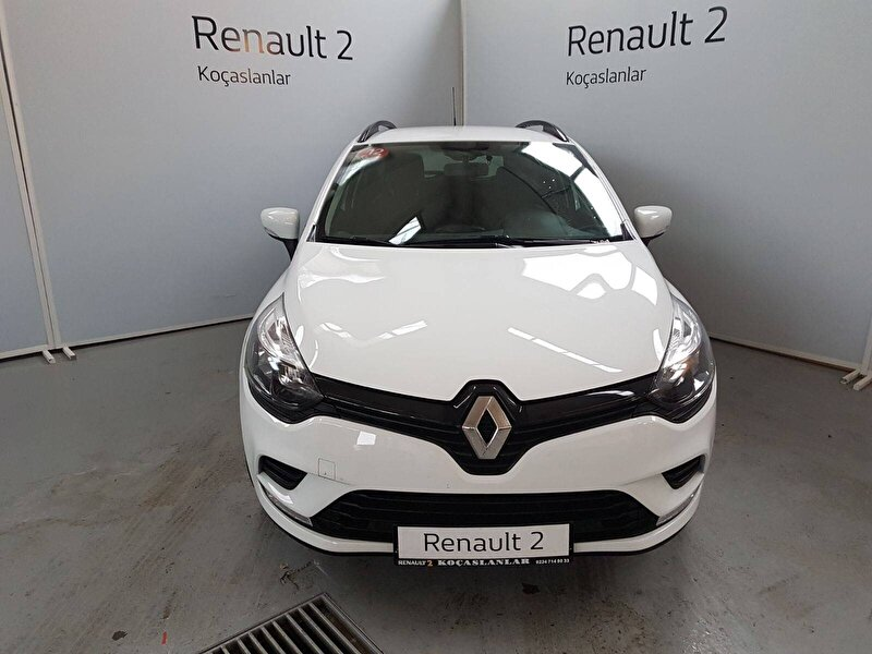 2019 Dizel Manuel Renault Clio Beyaz KOÇASLANLAR