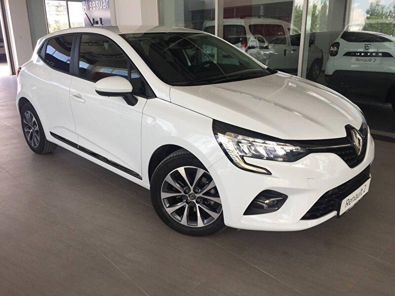 2020 Benzin Otomatik Renault Clio Beyaz KOÇASLANLAR