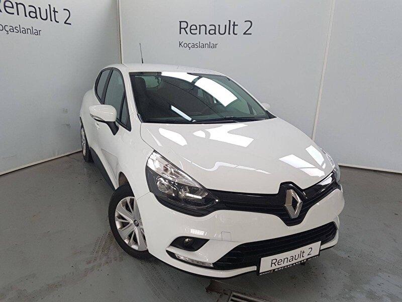 2017 Benzin Manuel Renault Clio Beyaz KOÇASLANLAR