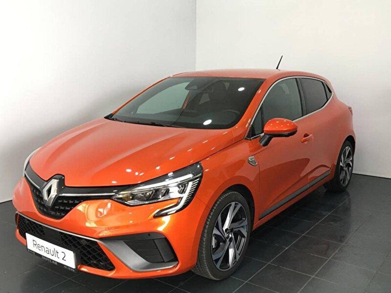 2020 Benzin Otomatik Renault Clio Turuncu İSOTLAR