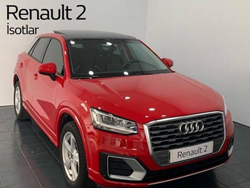 2020 Dizel Otomatik Audi Q2 Kırmızı İSOTLAR