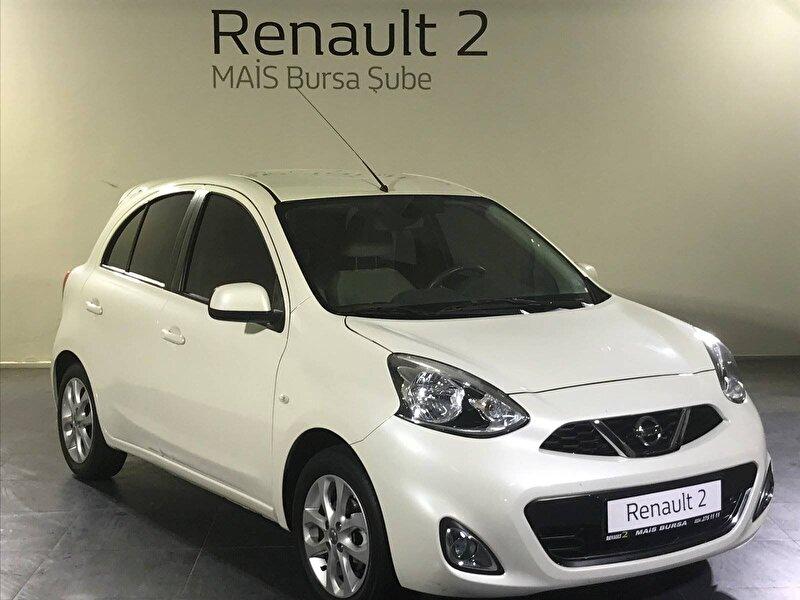 2018 Benzin Otomatik Nissan Micra Beyaz MAİS-BURSA