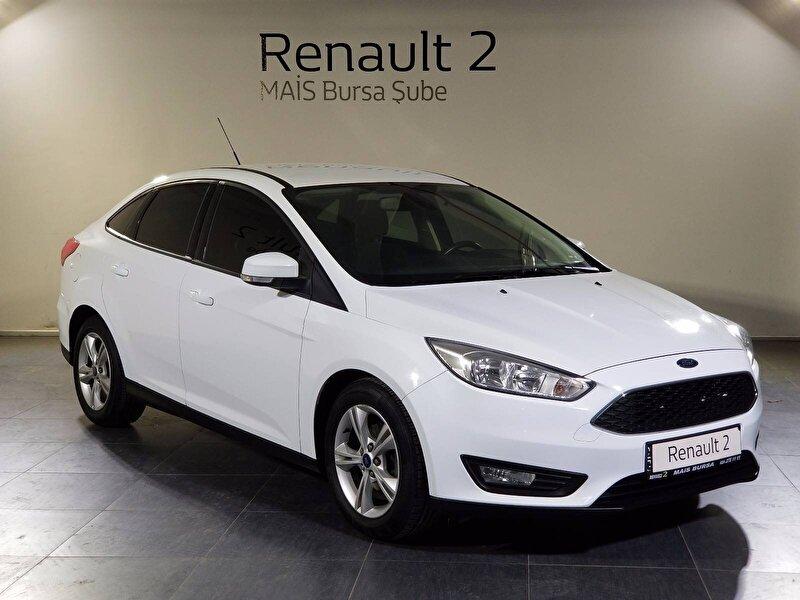 2016 Dizel Otomatik Ford Focus Beyaz MAİS-BURSA