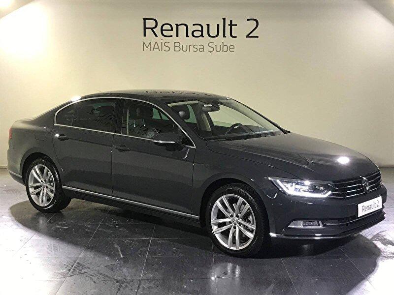 2017 Dizel Otomatik Volkswagen Passat Gri MAİS-BURSA