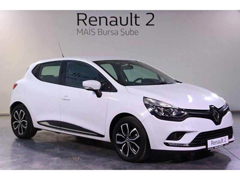 2017 Dizel Otomatik Renault Clio Beyaz MAİS-BURSA
