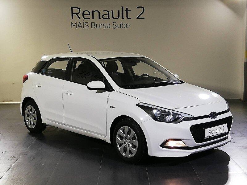 2018 Dizel Manuel Hyundai i20 Beyaz MAİS-BURSA