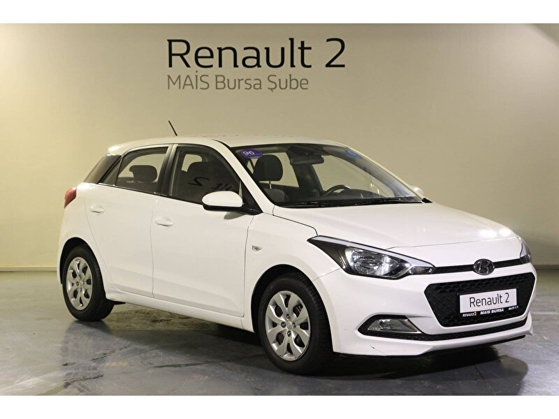 2017 Benzin Manuel Hyundai i20 Beyaz MAİS-BURSA