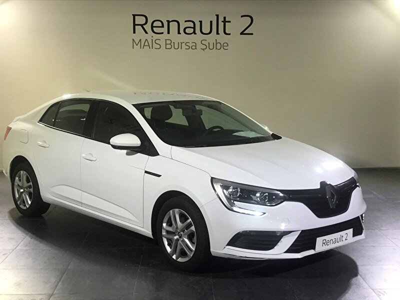 2020 Benzin Otomatik Renault Megane Beyaz MAİS-BURSA