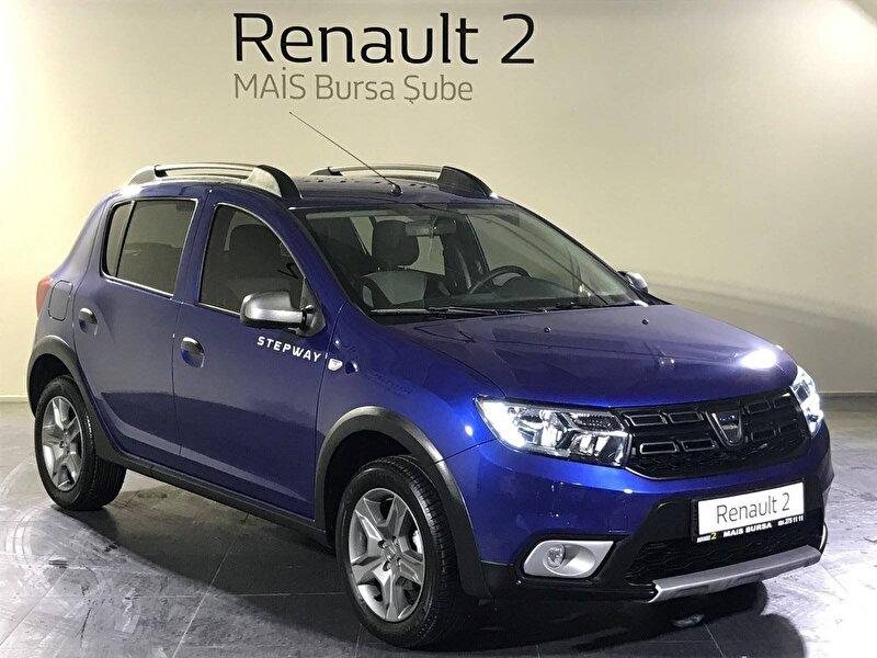2020 Benzin Otomatik Dacia Sandero Mavi MAİS-BURSA