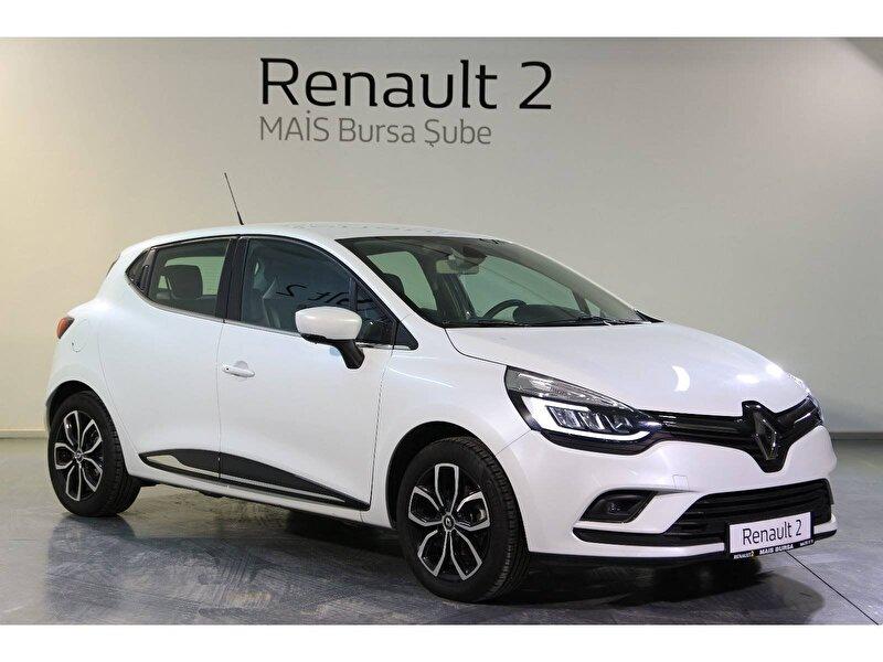2019 Dizel Otomatik Renault Clio Beyaz MAİS-BURSA