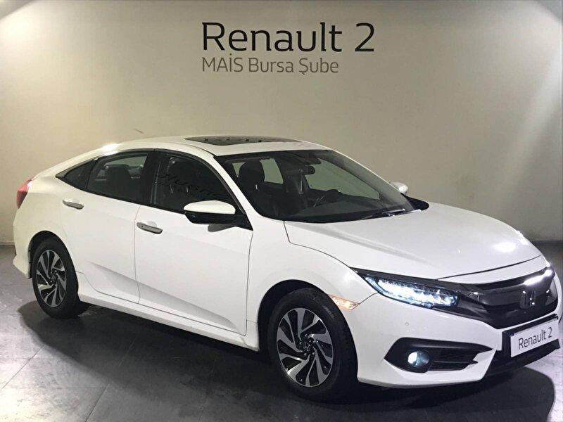 2019 Benzin Otomatik Honda Civic Beyaz MAİS-BURSA