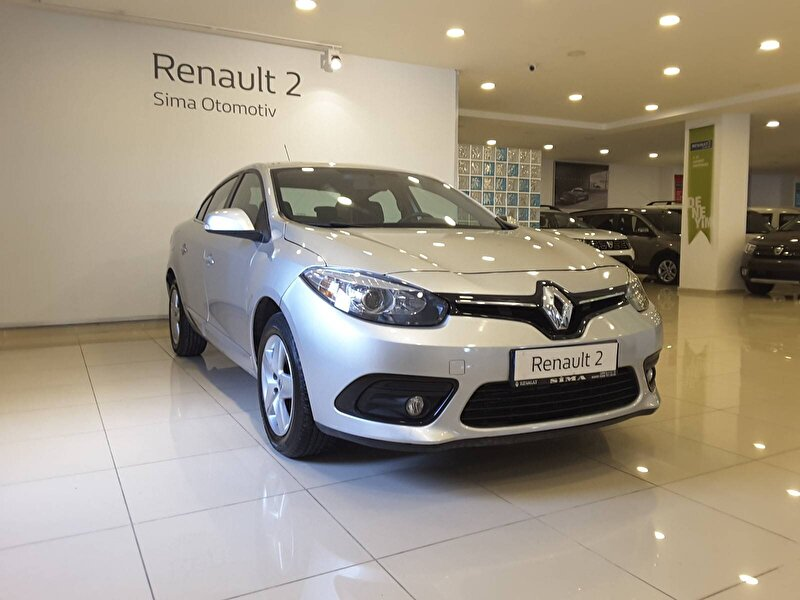2015 Dizel Otomatik Renault Fluence Gri SİMA OTOMOTİV
