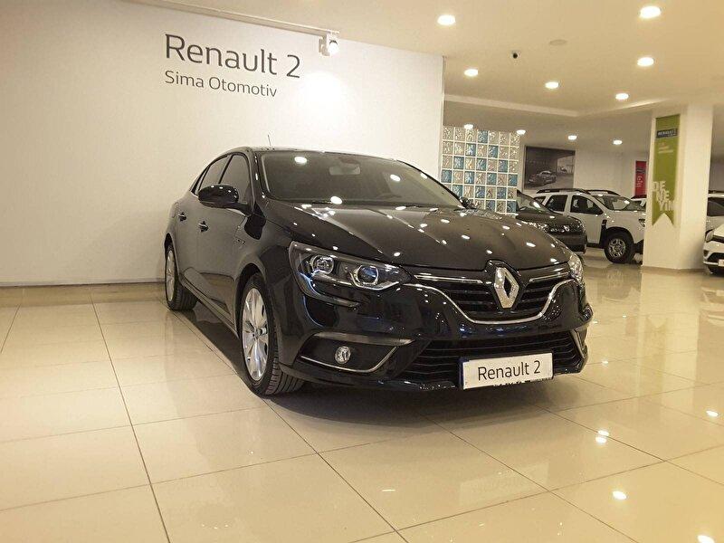 2016 Benzin Otomatik Renault Megane Siyah SİMA OTOMOTİV