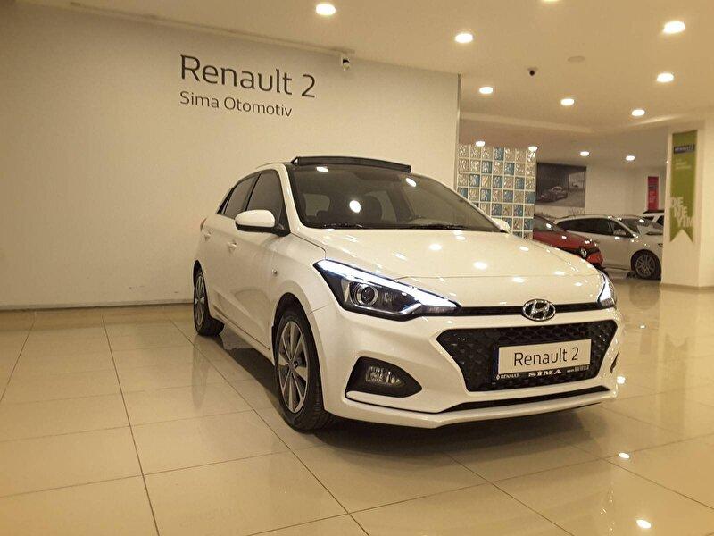2018 Benzin Otomatik Hyundai i20 Beyaz SİMA OTOMOTİV