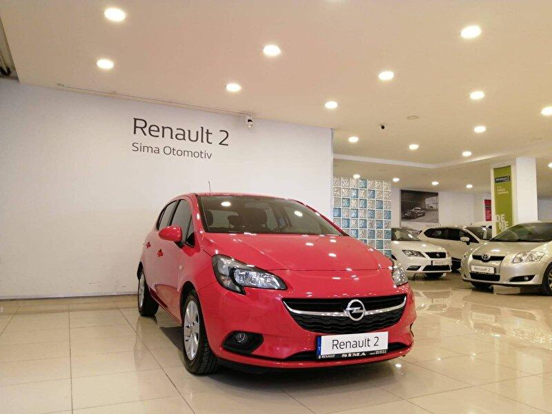 2016 Benzin Otomatik Opel Corsa Kırmızı SİMA OTOMOTİV